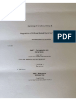 Alleged Draft of _ Banning of Crypto Currency & Regulation of Official Digital Currency Bill 2019 (India)