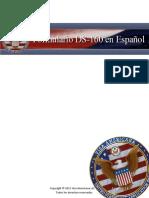 Formulario DS 160 en Espanol