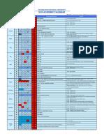 Academic Calendar (MNU)