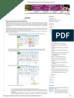 Cara Membuat Combo Box Di Lembar Kerja Excel