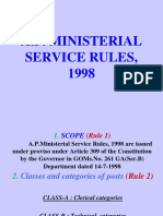 AP Ministerial Service Rules 1998