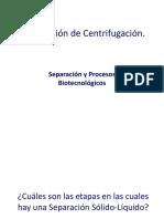 centrifugacion ppt