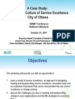 Fostering a Culture of Service Excellence Presentation