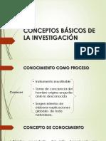 Conceptos Básicos de La Investigación