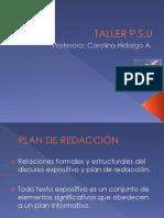 Taller PSU