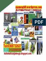 Estadistica,Finanzas,Fisica y Quimica