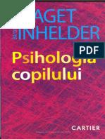 Jean Piaget-Psihologia Copilului Cut
