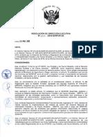 R.D.E. N° 042-2016-SERFOR-DE (Metod. Codif. de titulos habilitantes y actos administrativos - SERFOR)