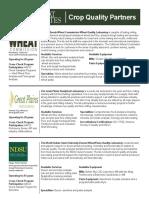 2018 USW Crop Quality Partners