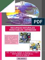 Recursos Naturales Renovables Diapositivas
