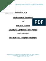 IICL Performance Standards