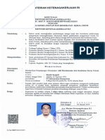 Kepmen - Ahli k3 Umum ( 04 Januari 2019)