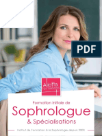 Formation Sophrologue