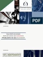 Elementary | Apresentação Serviço Laudos em Elevadores