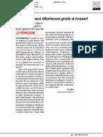 I dipinti di Bucci rifioriscono grazie ai restauri - Il Corriere Adriatico del 13 luglio 2019