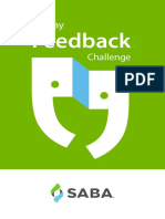 Take the 30 Day Feedback Challenge