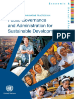 Compendium Public Governance and Administration for Sustainable Development