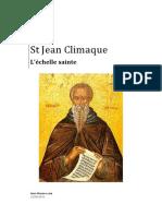 Saint Jean Climaque, L'échelle Sainte.