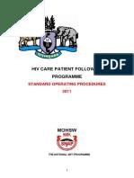 SOP_HIV Care Patient Follow-Up Programme
