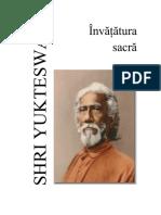 Sri Yukteswar - Invatatura sacra.pdf