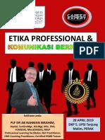 Etika Professional & Komunikasi Berkesan Upsi