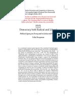 Radical Democracy - Political Agency in Dewey, Laclau, and Mouffe (Colin Koopman)