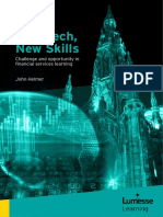 Challenge and Opportunity in Financial Services Learning