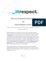 State Secrets and the Supreme Court