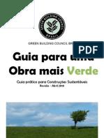 Guia Para Construcao Sustentavel GBCB