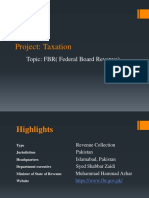 FBR Project Slides