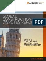 Report - Global Construction Disputes 2018