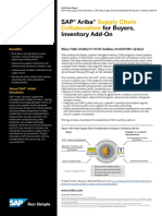 SAP Ariba Supply Chain Collaboration Buyers Inventory Add On