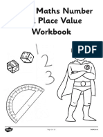 MATHS NUMBER AND PLACE VALUE WORKBOOK