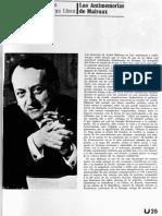 Escrito sobre Andre Malraux