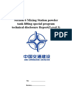 Method Statement Lifting BP6 Silo