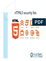 10 HTML5 Security