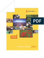 2001 France Telecom Orange Sustainability Report