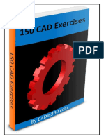 150 CAD EXERCISES & Practice drawing.pdf