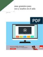 10 Programas Gratuitos Para Editar Vídeos y Usarlos en El Aula