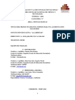 Proyecto Granos Andinos Final