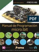 Manual programacion