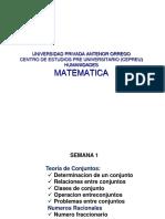 Conjuntos SEMANA1