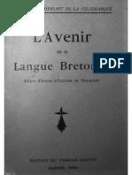 L'avenir de la langue bretonne