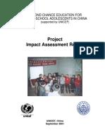 Impact Study Model