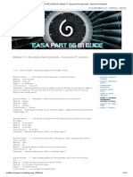 EASA PART 66 BLOG_ Module 11. Aeroplane Aerodynamics, Structures & Systems