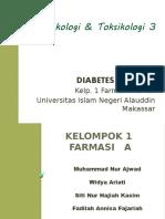 Farmakologi & Toksikologi 3 Diabetes Melitus