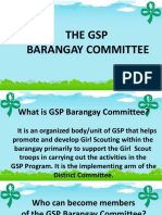 GSP Barangay committee