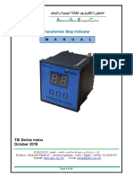 transformer step indicator