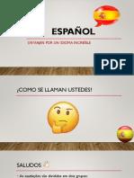Aula de espanhol