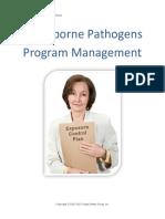 Bloodborn Pathogen managemen